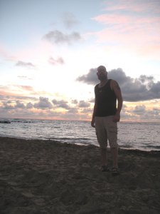Sunrise on the first day of Spring in St. Kitts West Indies!